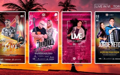Live in Victória promete agitar com 04 shows neste final de semana