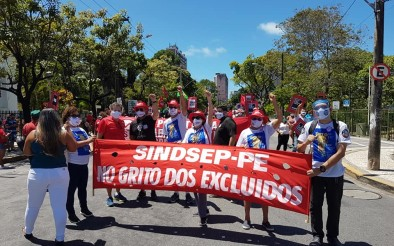 SINDSEP-PE no Grito dos (as) Excluídos (as) no Recife