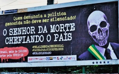 Outdoors denunciam política genocida do governo Bolsonaro